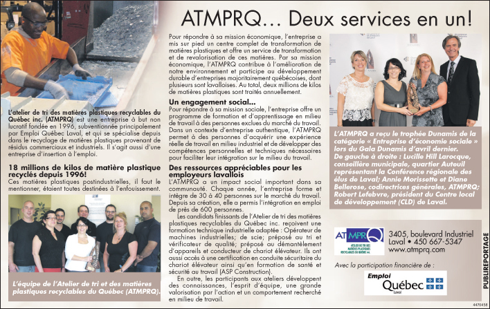 Article de journal-ATMPRQ