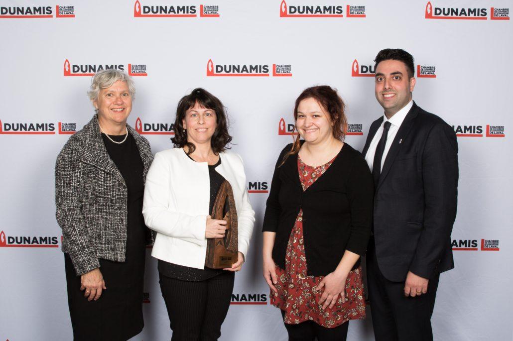 Entreprise d'économie sociale nominé pour le prix dunamis-ATMPRQ