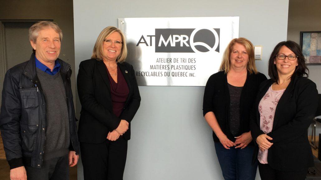 Visite du Ministre Charbonneau- ATMPRQ