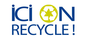 logo ici on recycle