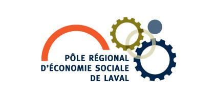 Logo Pôle régional d'économie social de Laval
